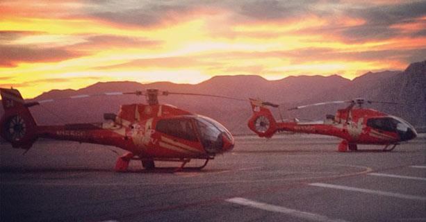 Grand Celebration Sunset Helicopter Tour